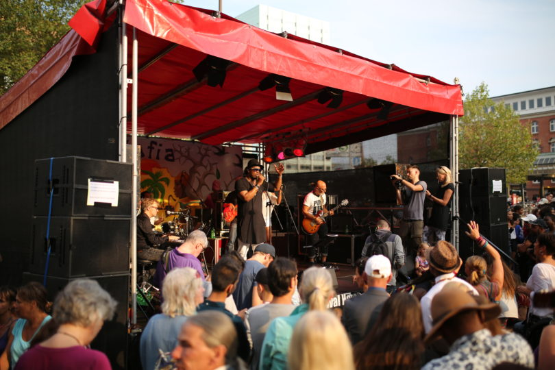 Alafia - Bühne